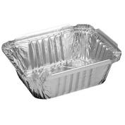 0.5kg. (470ml) Oblong Aluminium Container - 1000 per case