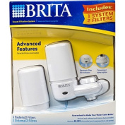 Brita Faucet Filtration System White 1 System 2 Filters