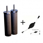 2 Black Berkey Replacement Elements & Black Berkey Primer