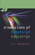 Dimensions of Extension Education [Large Print]