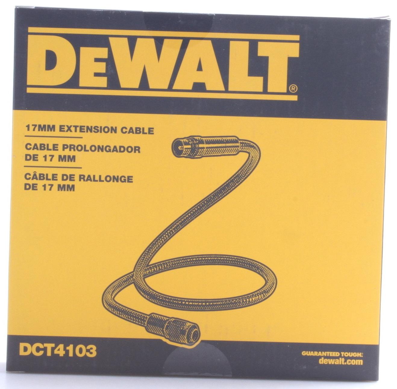 DEWALT DCT4103 12V MAX 17mm Inspection Camera Extension on