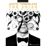 Hal Leonard Justin Timberlake - The 20/20 Experience for Piano/Vocal/Guitar