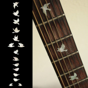 Fretboard Markers Inlay Sticker Decals for Guitar Bass - Dove