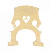 Rata Standard Cello Bridge for 1/2 Size for Replacement Part Students Teacher Affordable