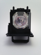 GLAMPS 915B455011 Replacement Lamp With Housing / Case for MITSUBISHI TV Model WD-73640 WD-73740 WD-73C11 WD-73CA1 WD-82740 WD-82840 WD-82940