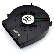 AC Infinity MULTIFAN S2, Quiet 140mm USB Blower Fan with Speed Control, for Receiver DVR Xbox Modem AV Cabinet Cooling