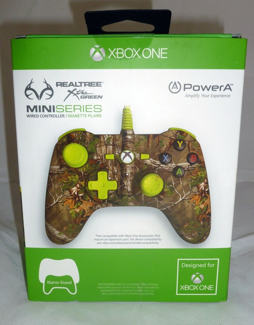 Xbox One Mini Realtree Wired Controller by BD & A - Shop