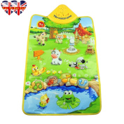 Baby Play Mat, Music Carpet, Plastic Farm Musical Carpet