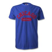 Chicago Baseball T-Shirt Royal/Red