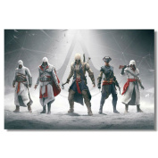 Assassin's Creed Black Flag Silk Print
