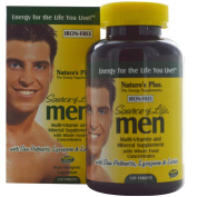Source of Life, Men, Multi-Vitamin and Mineral Supplement - Nature's Plus