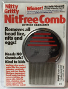 Nitty Gritty Nit Free Comb x 3 Packs - Colours Vary