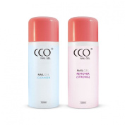 CCO UV LED Nail Gel for Shellac Remover and Cleanser Soak off 150ml Bottle