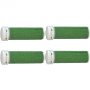 The Pedi Store 4 Pack - EXTREME Coarse Micro Mineral Emjoi Micro-Pedi Compatible Replacement Rollers for Extremely Rough and Tough Calluses