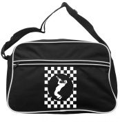 Trumpeter Cheque Circle Messenger Bag Ska 2 Tone Specials Madness FREE UK Postage