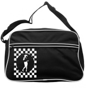 Rude Girl Circle Cheques Messenger Bag Ska 2 Tone Specials Madness FREE UK Postage