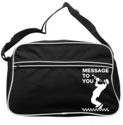 Messsage To You Messenger Bag Ska 2 Tone Specials Madness FREE UK Postage