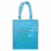 Inspired by Saw Doctors Galway & Mayo Maroon & White Forever Unofficial Tote Bag