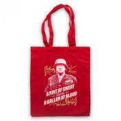 Inspired by General Patton A Pint Of Sweat Saves A Gallon Of Blood Unofficial Tote Bag