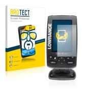 2x BROTECT® Screen Protector Lowrance Elite-4x HDI - Crystal-Clear, Anti-Fingerprint, Anti-Scratch, Bubble-Free