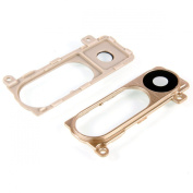 Shine GOLD Camera Lens Frame Cover Replacement For LG G3 D850, D855, LS990