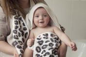 Cuddledry snow leopard apron towel - Cuddlepaw