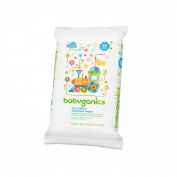 Toy, Table & Highchair Wipes, Fragrance Free, 25 Wipes - BabyGanics - UK Seller