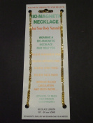 MAGNETIC THERAPY NECKLACE 3245 HEAVY CHAIN DESIGN GOLD PLATED