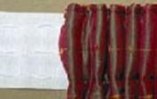 Cord Pocket Pencil Pleat Curtain Heading Tape. 15cm wide Rufflet