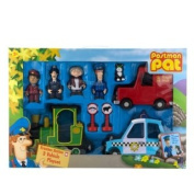 Postman Pat's Van Good Quality 3 Vehicle Play set.