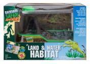 Backyard Safari Backyard Safari Land and Water Habitat Playset