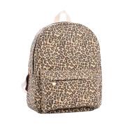 Demarkt Wildly Leopard Print Canvas Bag Backpack Bag Rucksack