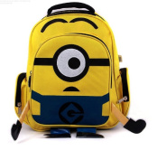 Despicable Me children cartoon Minion child yellow bag backpack for kids children school bags for students
