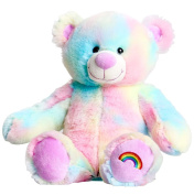 "Pastel Rainbow Teddy Bear 16"" (40cm) Stuff Your Own Bear Kit"
