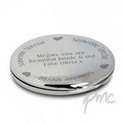 Someone Special Compact Mirror Personalised Beauty . Present Gift Make-UP