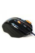 Jite Black Optical Button Gaming Mouse