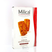 Milical 16 High-Protein Biscuits - Flavour : Chocolate Chips