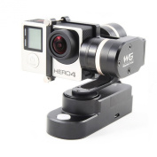 Feiyu FY WG 3 axis Wearable Gimbal Stabiliser for Gopro Hero 3+ 4 with LCD Touch Bacpac and AEE xiaomi camera