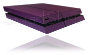 Sony Playstation 4 PS4 Textured Purple Carbon Fibre Skin Wrap Cover Decal Cover