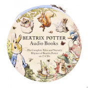 Peter Rabbit+All 23 Classic Beatrix Potter Audio Story Book Tales CD Collection /RRP $270.00. Australia-Wide