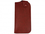 Slip In Glasses Case With Flap Over Press Stud Close