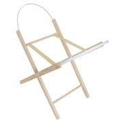 CUTE BABY MOSES BASKET STAND PINE