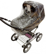 Universal Raincover To Fit Silvercross Sleepover Pushchair