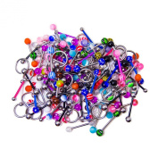 20 Tongue Ring Nipple Ring Assorted Pack - Perfect for Small Shops or Individuals