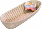 Birkmann 208995 Long Bread Proofing Basket 40.5 x 15 x 6.5 cm Large