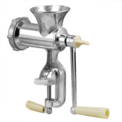 Veroda Aluminium Alloy Hand Operated Manual Meat Mince Grinder Clam Kitchenp Tool