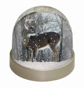 Deer Stag in Snow Snow Dome Globe Waterball Gift