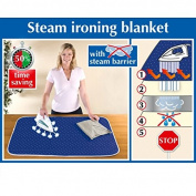 Wenko 1201073100 Ironing Mat 65 x 100 cm Cotton Blue