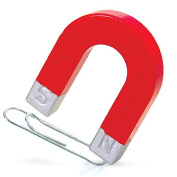 Horseshoe Magnet Fun Kids Science School Red Magnet Stocking Filler Toys by Lizzy®