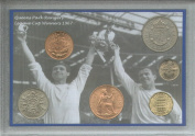 Queens Park Rangers QPR (The Hoops R's) Vintage League Cup Final Winners Retro Coin Present Display Gift Set 1967